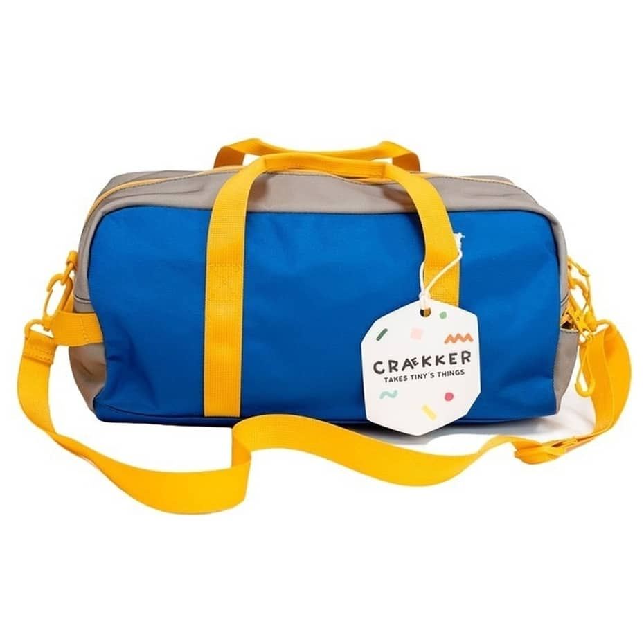 Kids Gym Bag BO - Blau - Grün - Ocker