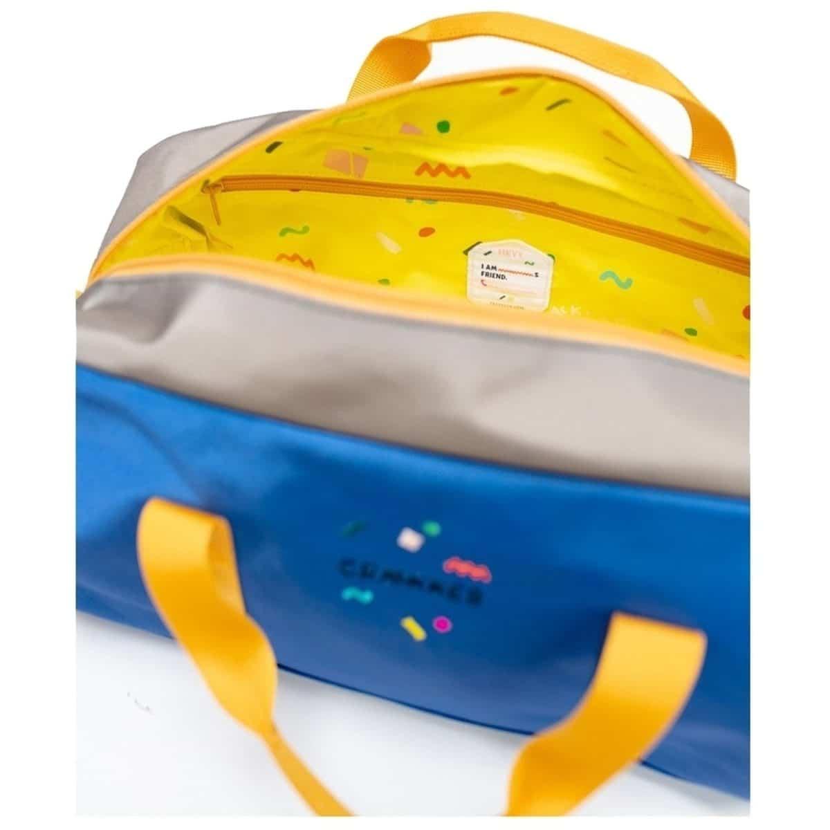 Kids Gym Bag BO - Blau - Grün - Ocker