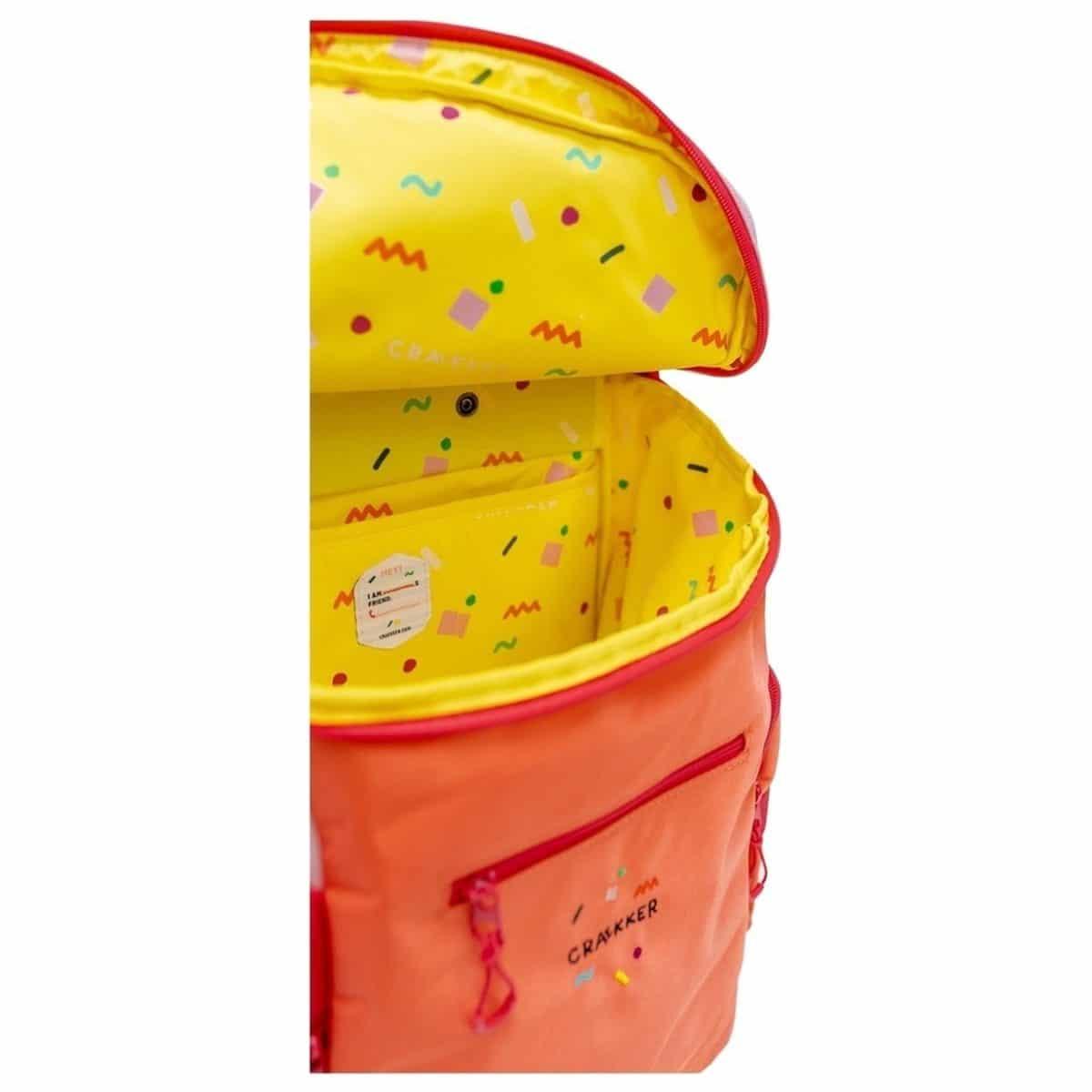 Kids Trolley Hankie - Pink - Orange - Fuchsia