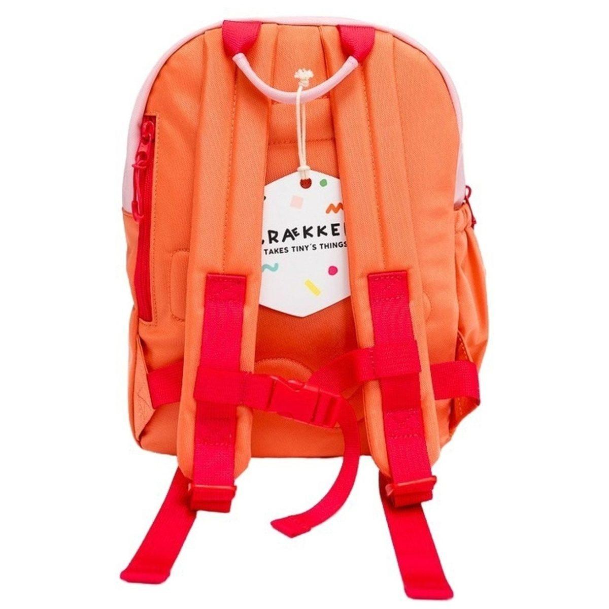 Kids Backpack ROOK - Pink - Orange - Fuchsia