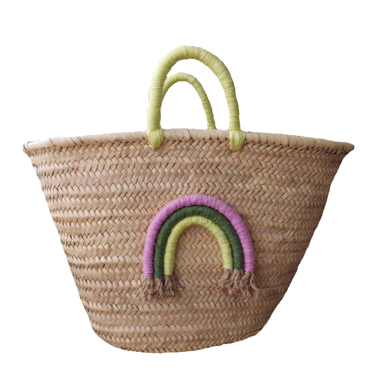 Rainbow Basket - Bunt