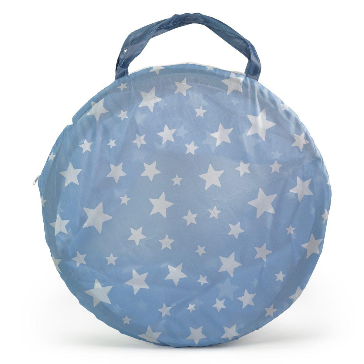 Spieltunnel Star blau