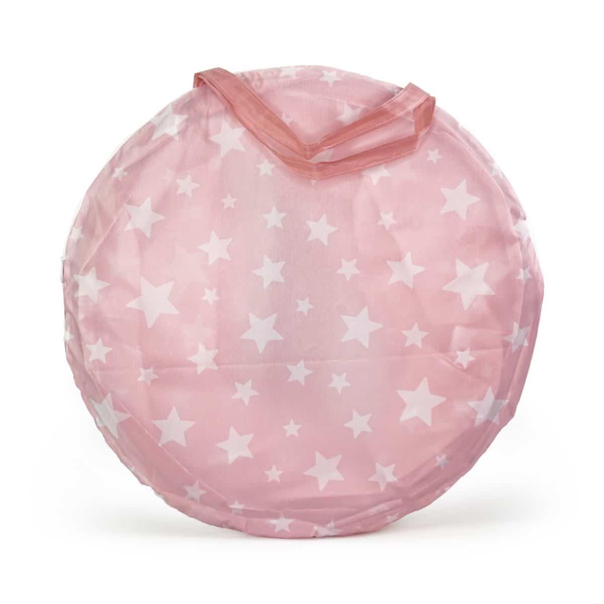 Spieltunnel Star rosa