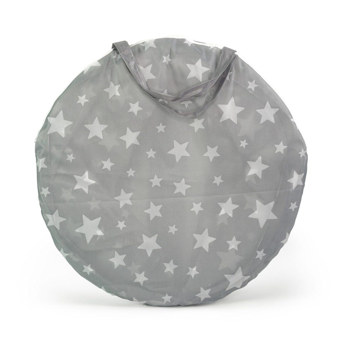 Spieltunnel Star grau