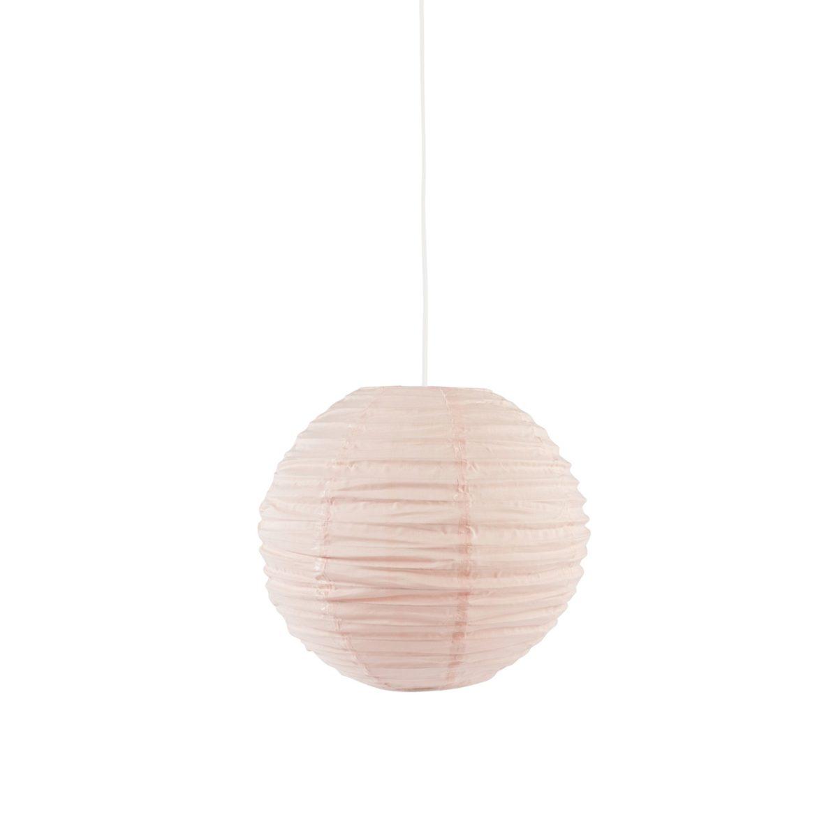 Lampenschirm Edvin apricot Ø 40 H 30 cm.