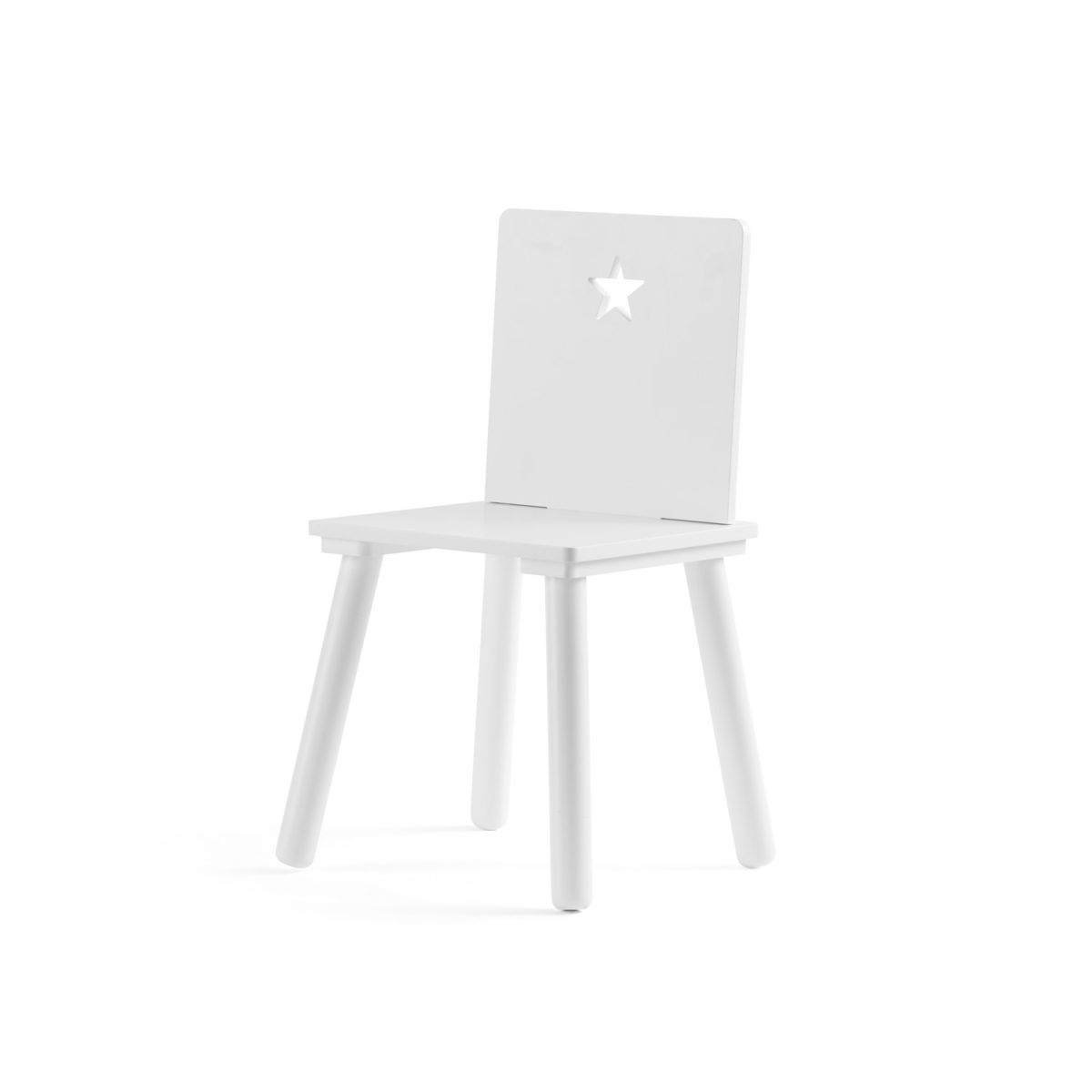 Stuhl Star weiß Sitzhöhe 30 cm