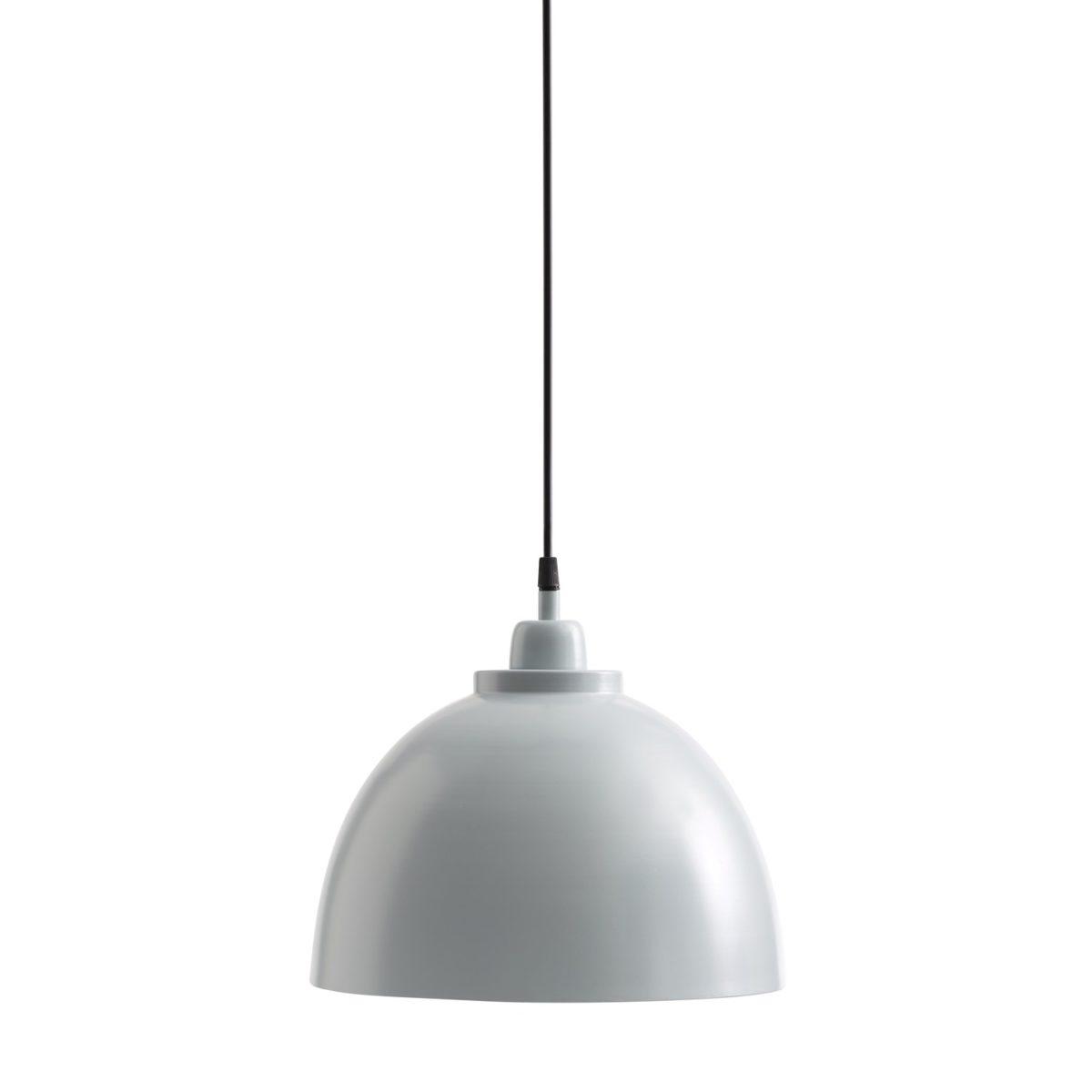 Deckenlampe Metall blaugrau Ø 30cm