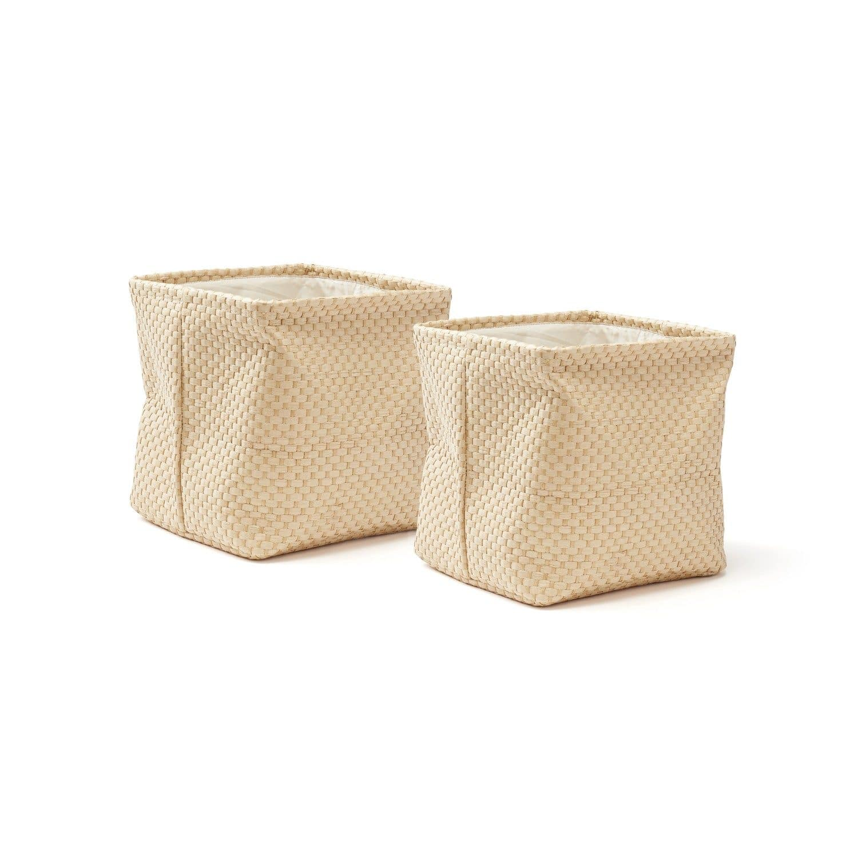 Papierboxen 30x30 cm 2er-Set