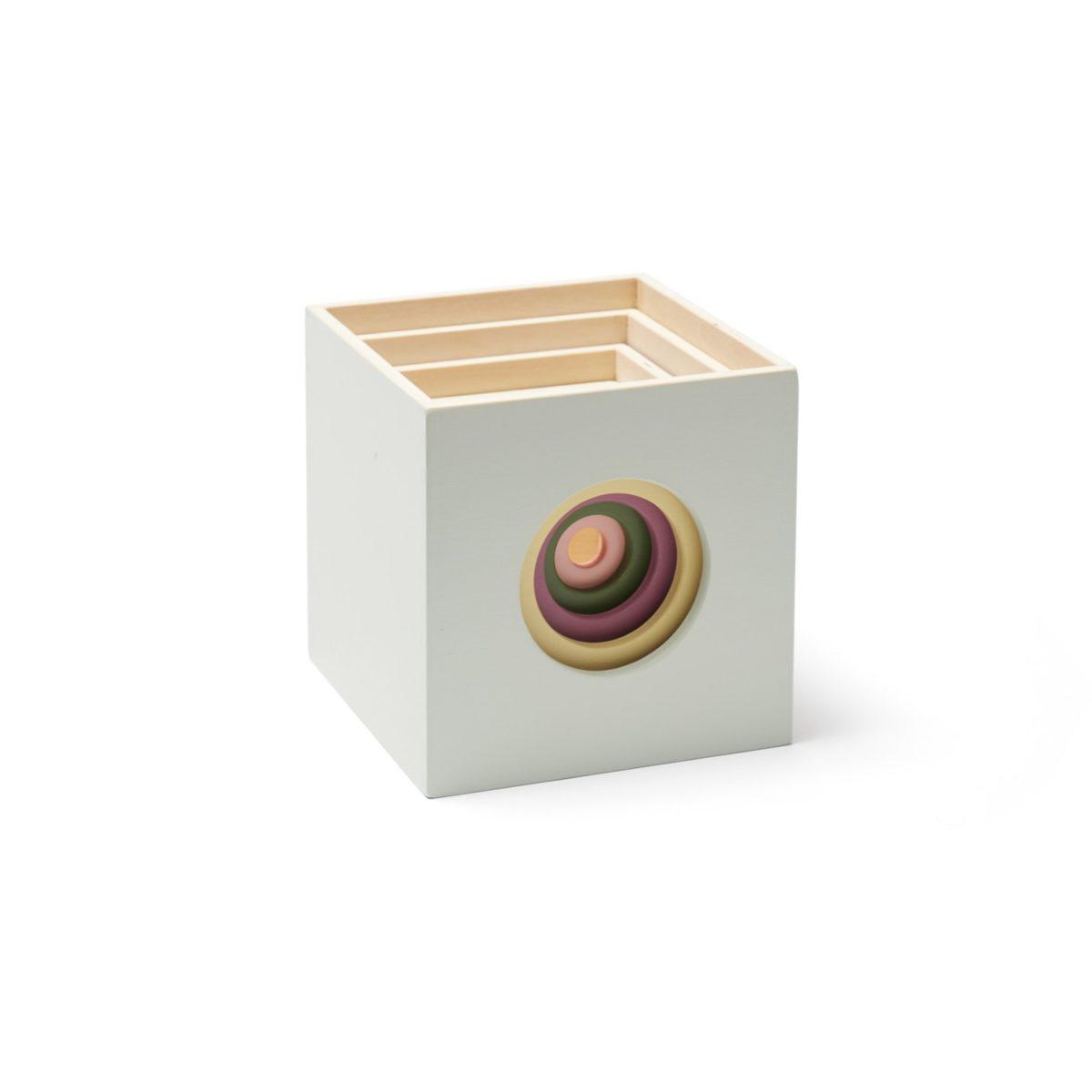 Stapelwürfel Holz Edvin