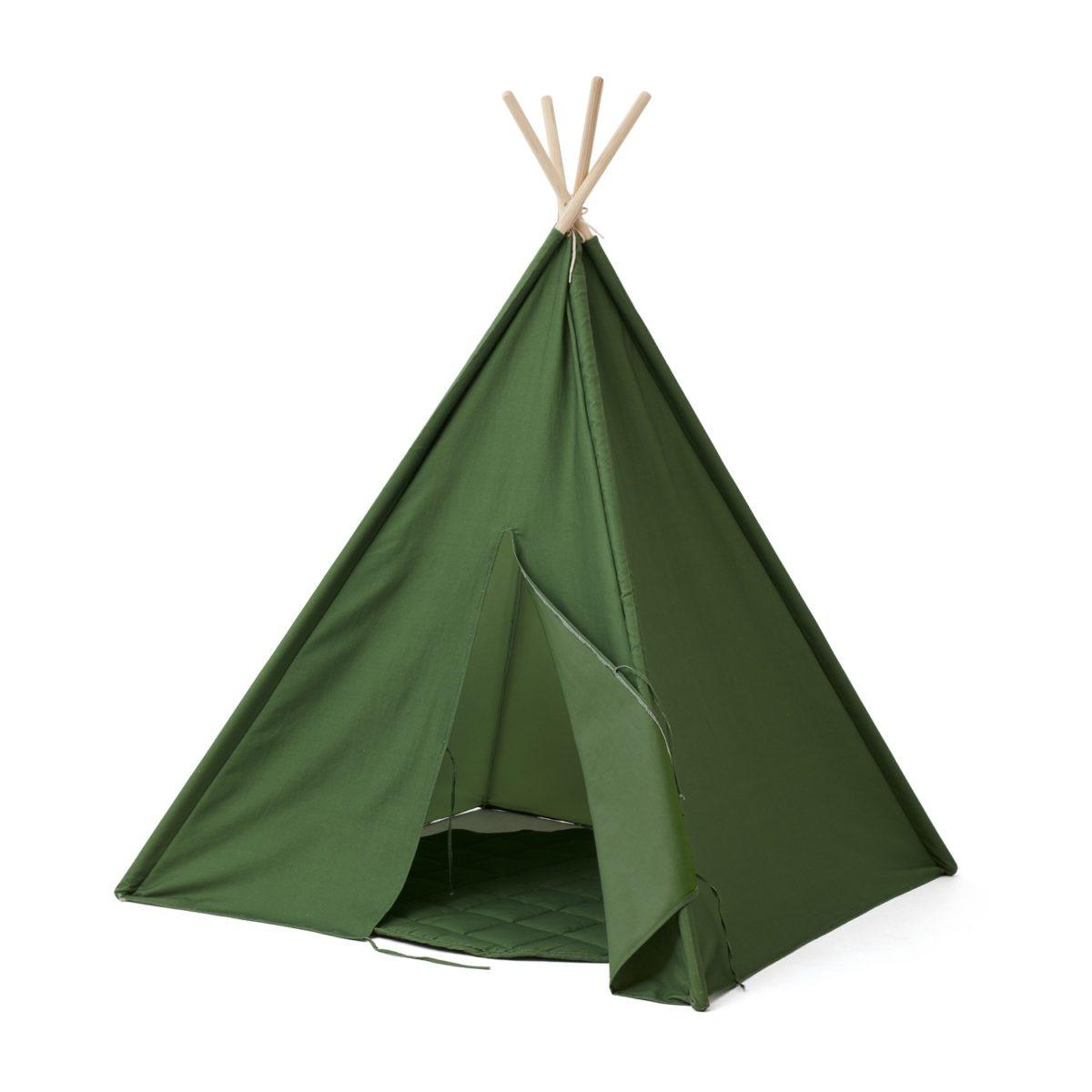 Tipi Zelt H grün 160 cm