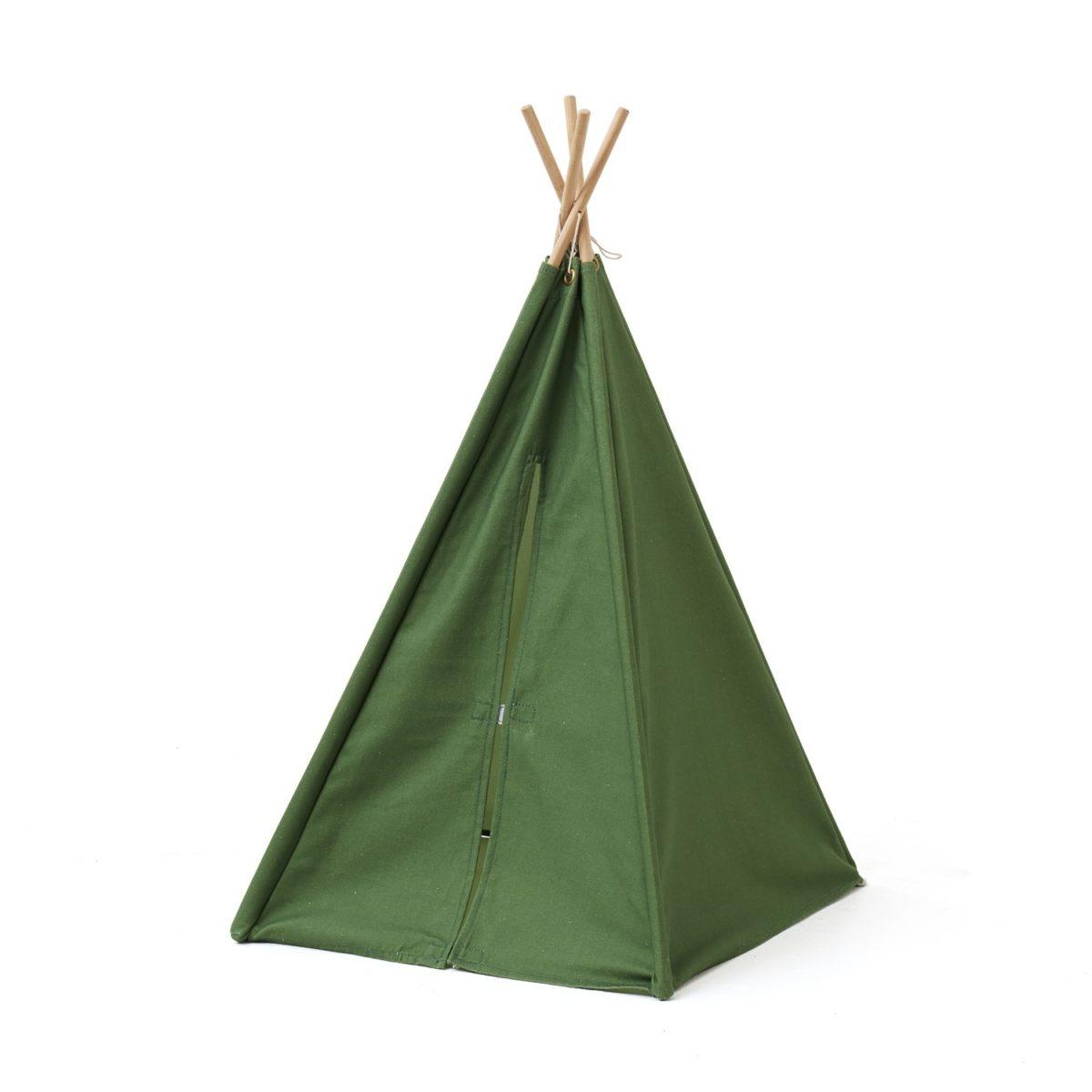 Tipi Zelt mini H 75 cm grün