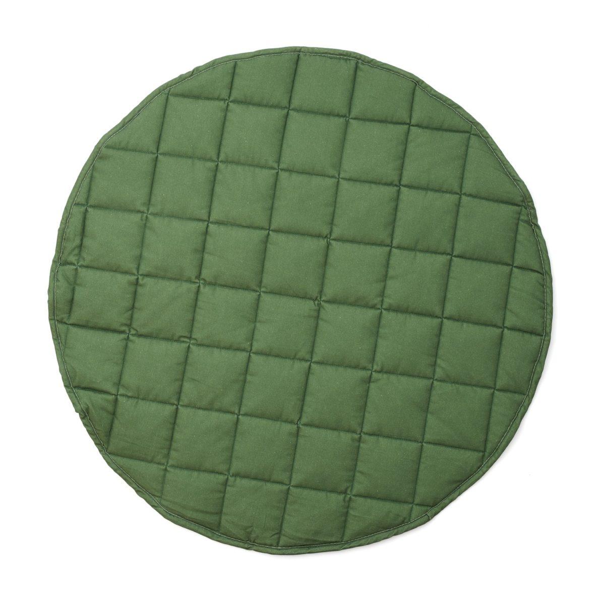 Spielteppich rund Ø 80 cm grün