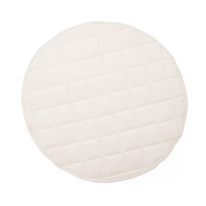Spielteppich rund Ø 80 cm beige