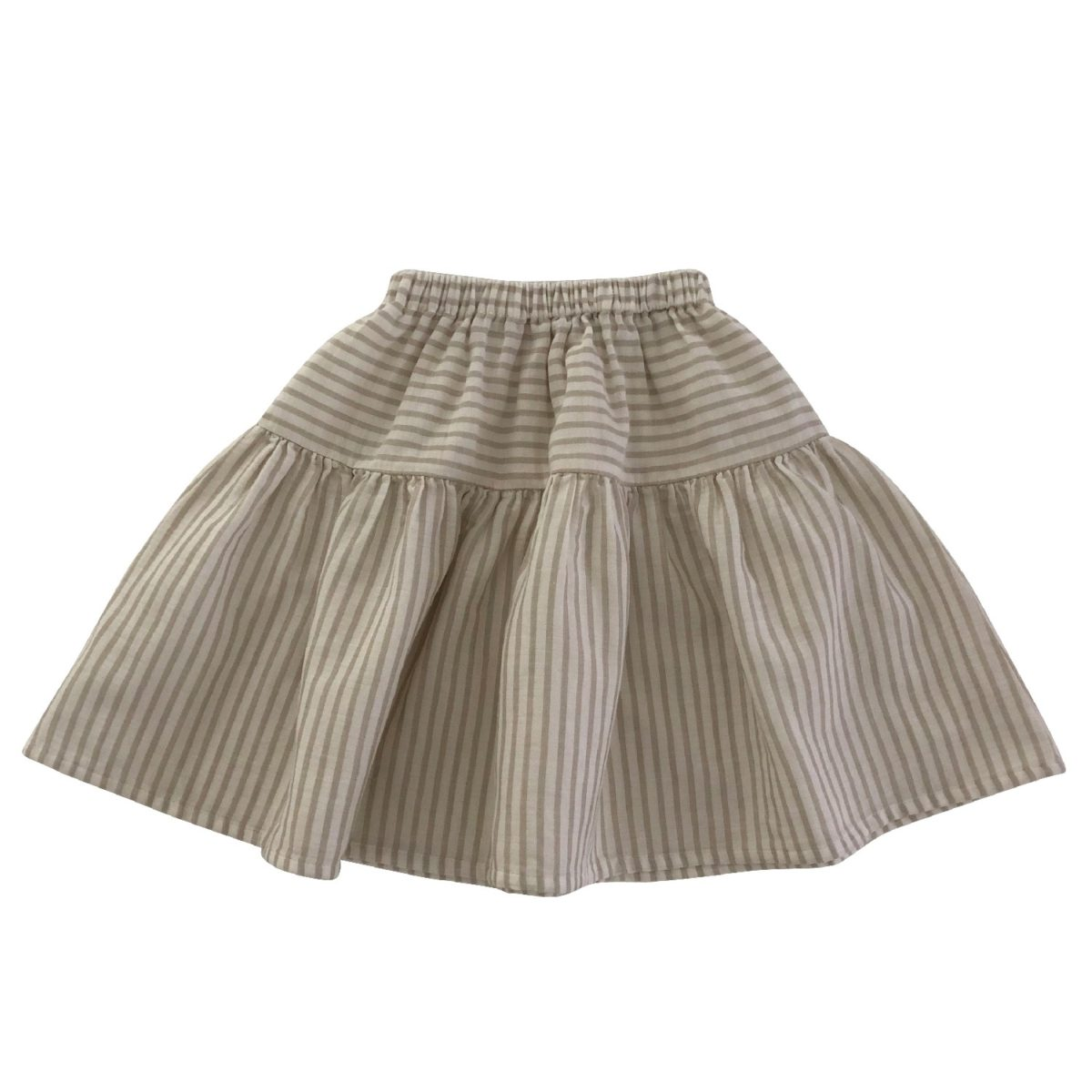 Nala Skirt, Sandy Stripes