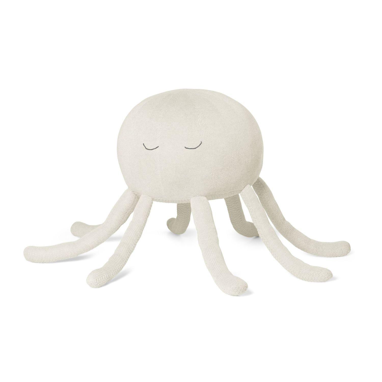 Octopus Kuscheltier, groß, cream