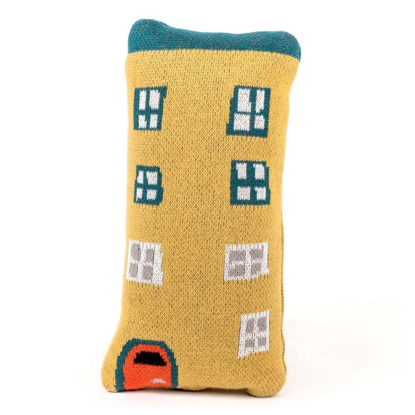 Kuschelkissen yellow house