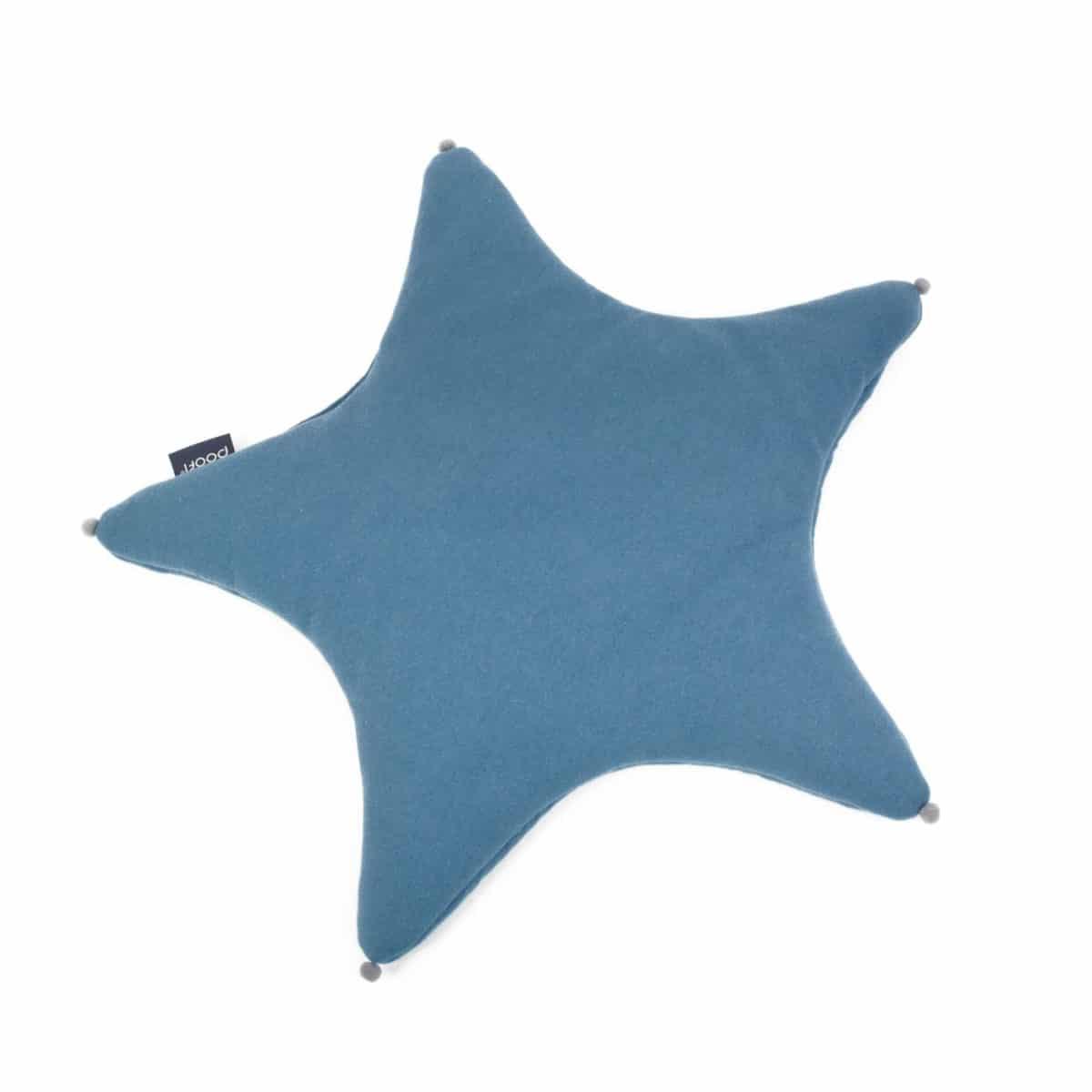 Kissen Stern, blue