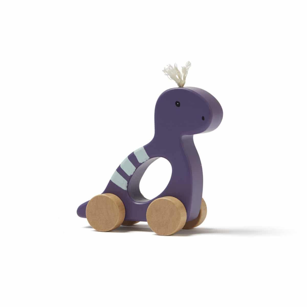 Schiebefigur Dino lila Neo