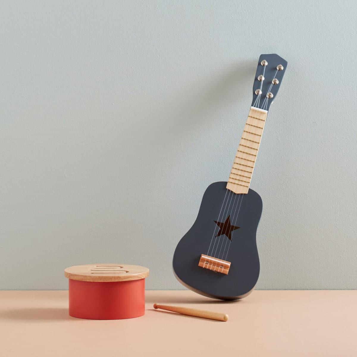 Gitarre dunkelgrau