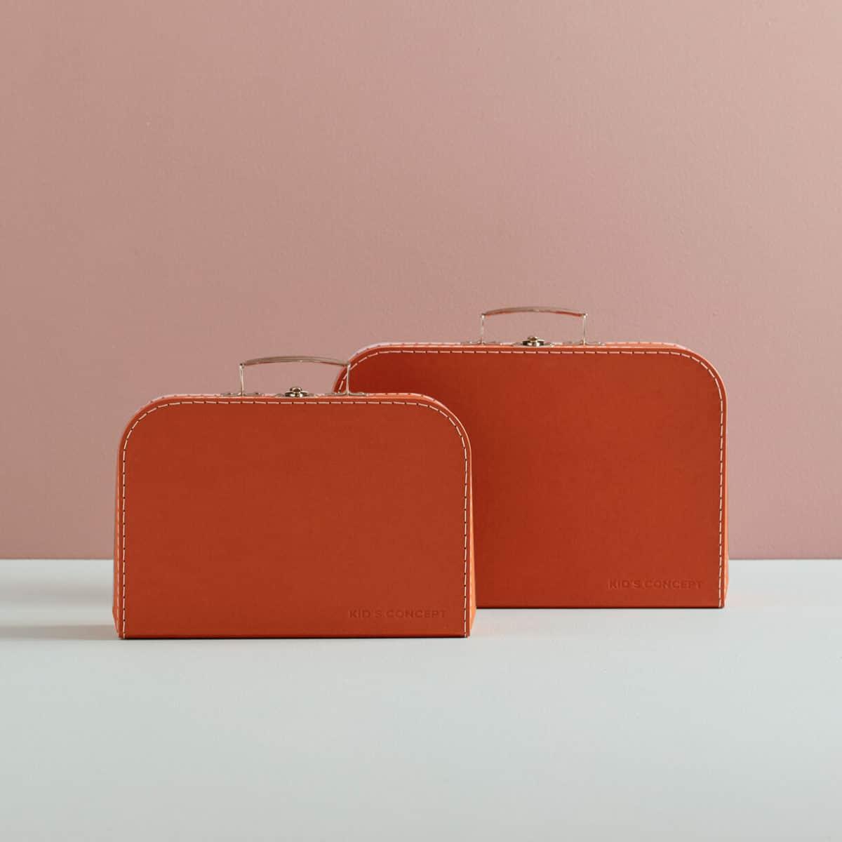 Koffer 2er-Set braun