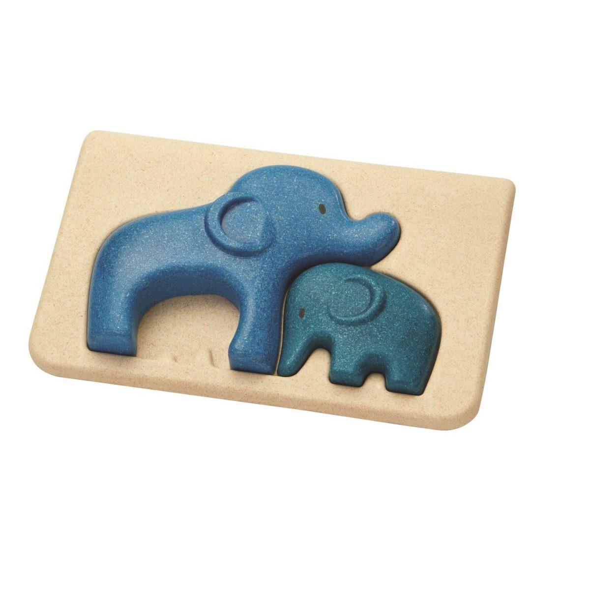 Puzzle Elefanten