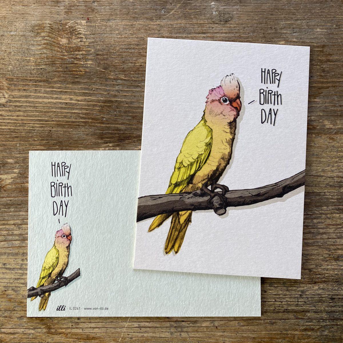 KYUTE Postkarte von illi FENIZ