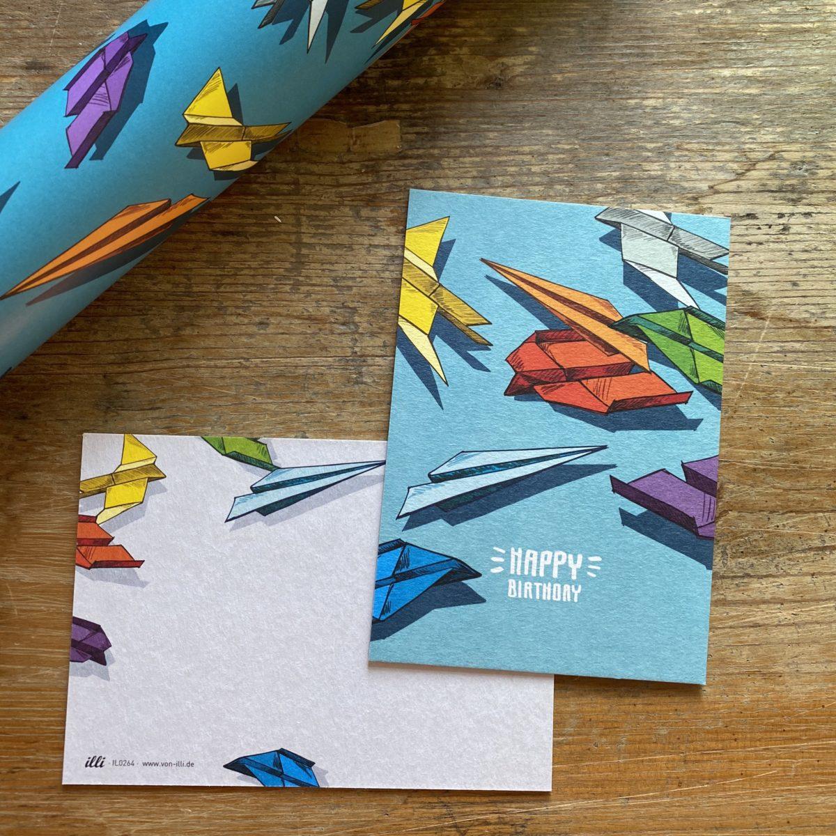 KYUTE Postkarte von illi MIO