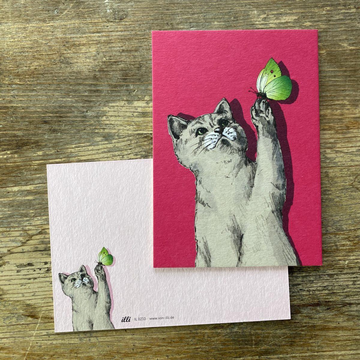 KYUTE Postkarte von illi MYLO
