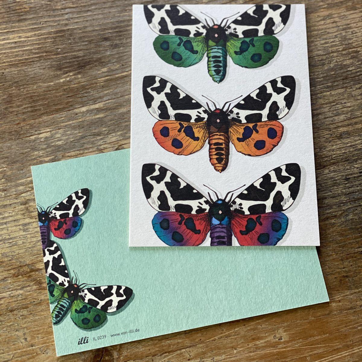 KYUTE Postkarte von illi PARUPARO